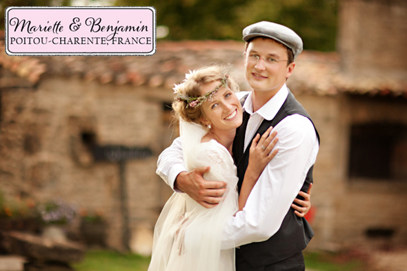 country wedding in france Destination Wedding in Poitou Charente, France