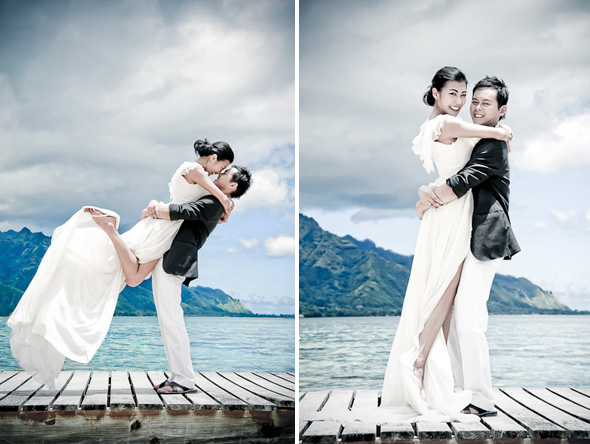 destination wedding moorea