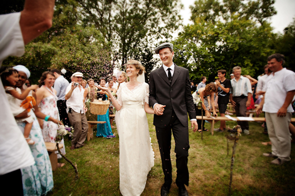 french countryside wedding reception Destination Wedding in Poitou Charente, France