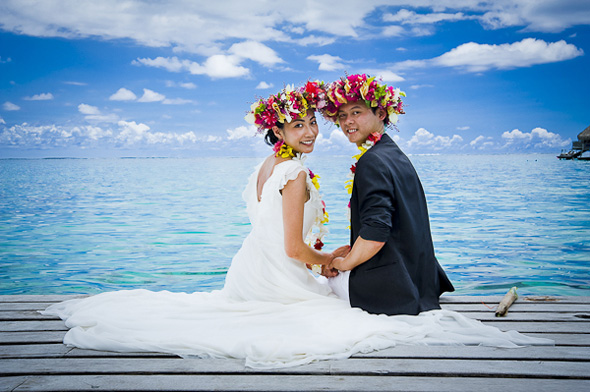 french polynesia wedding locations Elopement in Moorea