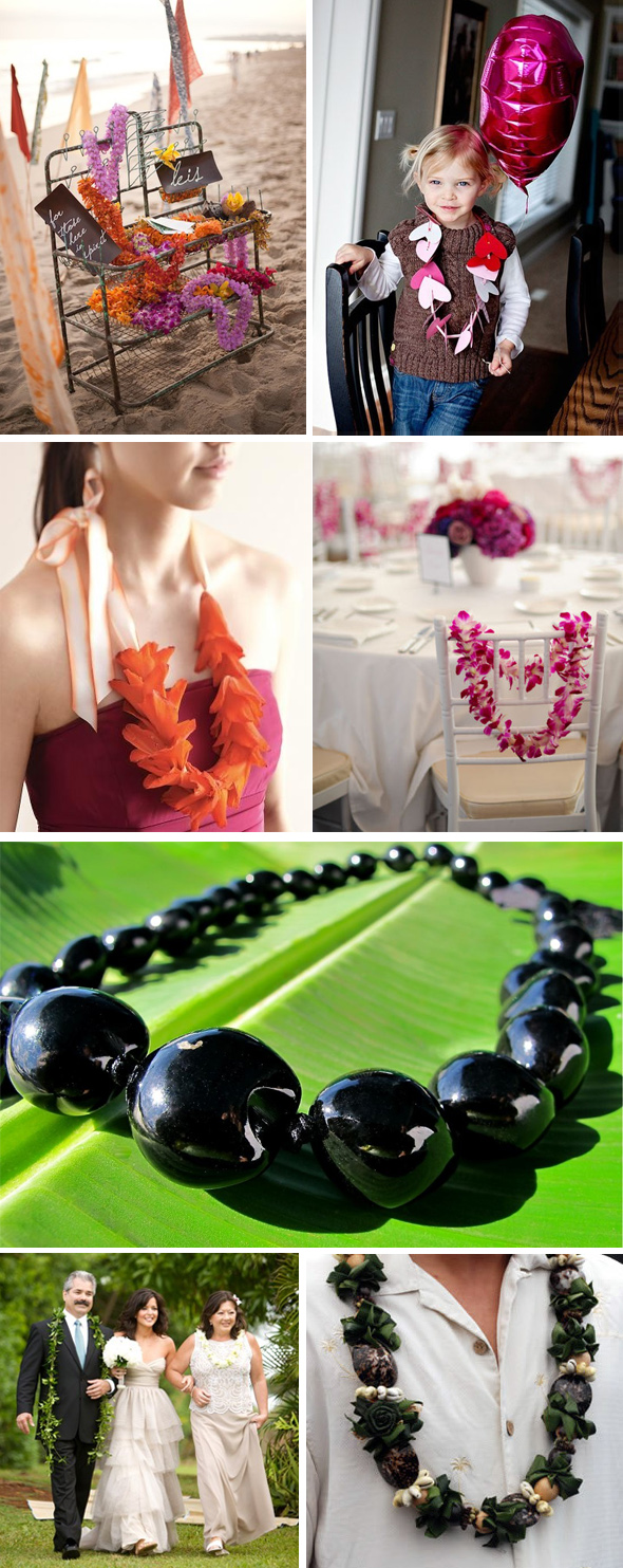 wedding lei