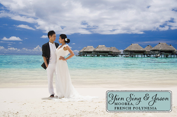 wedding on moorea Elopement in Moorea