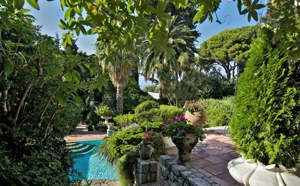 Villa rental in Capri