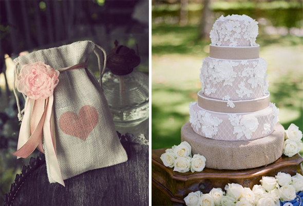 burlap wedding Burlap Weddings