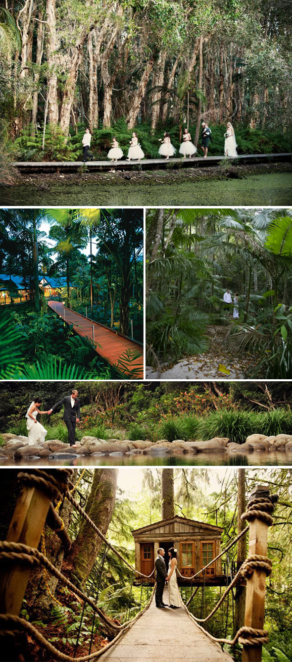 destination weddings in the rainforest Destination Weddings in the Rainforest