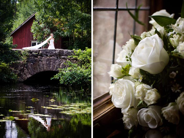 2b white wedding flowers sweden Destination Wedding in Sweden