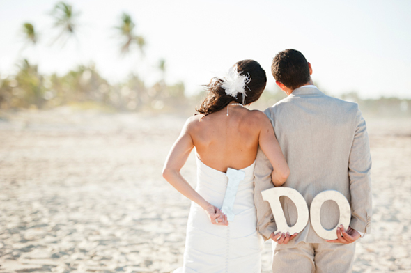 I do wedding signs Destination Wedding Punta Cana, Dominican Republic