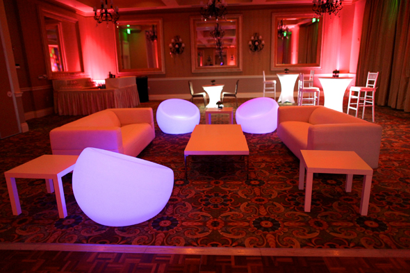 after party lounge furniture Destination Wedding in Naples, Florida