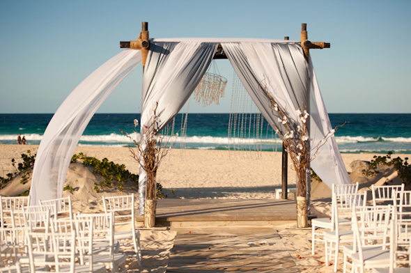 beach wedding ceremony Destination Wedding Punta Cana, Dominican Republic