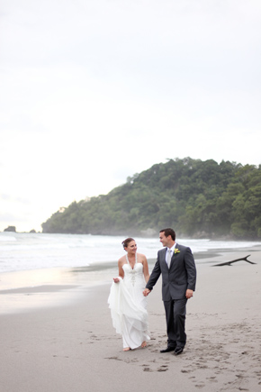 beach weddings costa rica Costa Rica Destination Wedding
