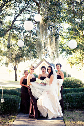 brown bridesmaid dresses St. Simons Island, Georgia Destination Wedding