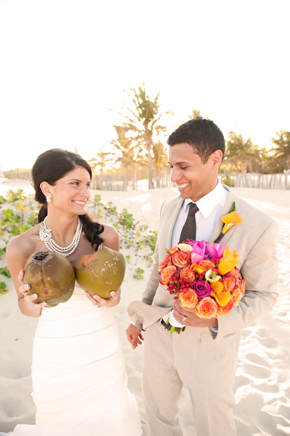 coconuts beach wedding