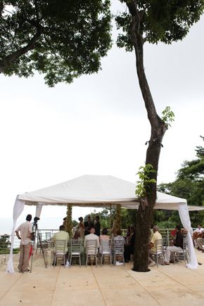 costa rica wedding tents
