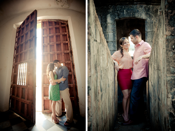 destination wedding engagement photos