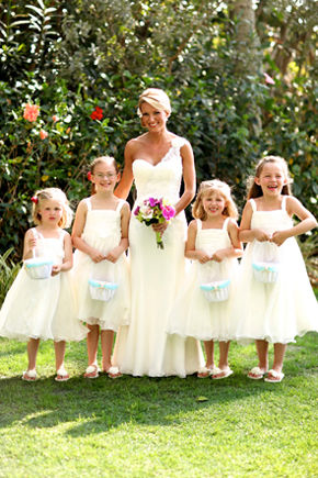 destination wedding flower girl dresses1 Destination Wedding in Naples, Florida