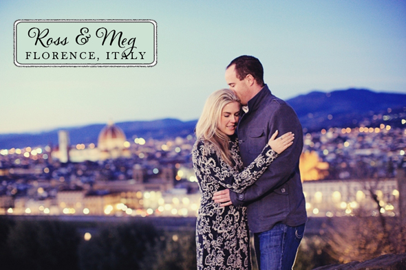 engagement shoot in florence