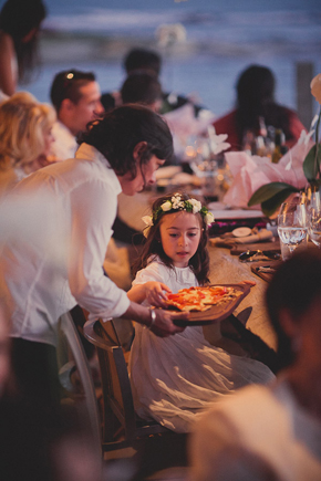 flower girl Destination Wedding in Uruguay, South America