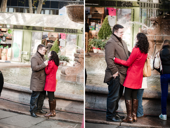 new york city engagement shoots