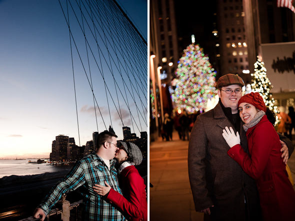 nyc holiday engagement ideas NYC Destination Proposal