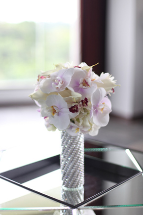 orchid bridal bouquet3 Costa Rica Destination Wedding