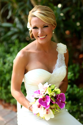 outdoor bridal portraits1 Destination Wedding in Naples, Florida