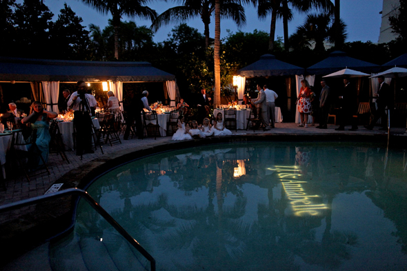 poolside wedding ideas Destination Wedding in Naples, Florida