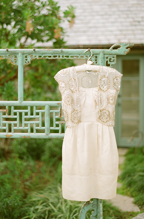short wedding dress Destination Photo Shoot: Vintage Wedding