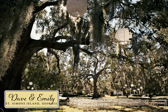 st simons island georgia wedding