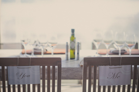 sweetheart chair signs Destination Wedding in Uruguay, South America