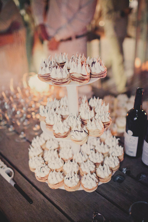 wedding dessert bar Destination Wedding in Uruguay, South America