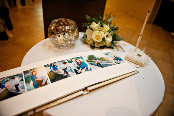 wedding guest book photos