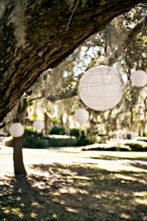 wedding lanterns St. Simons Island, Georgia Destination Wedding
