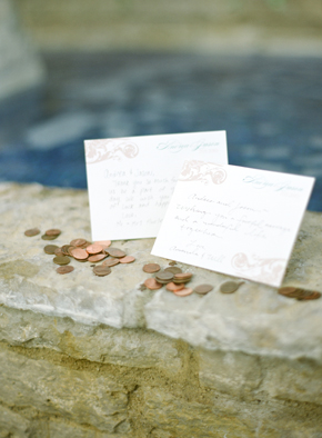 wedding wishing well Destination Photo Shoot: Vintage Wedding