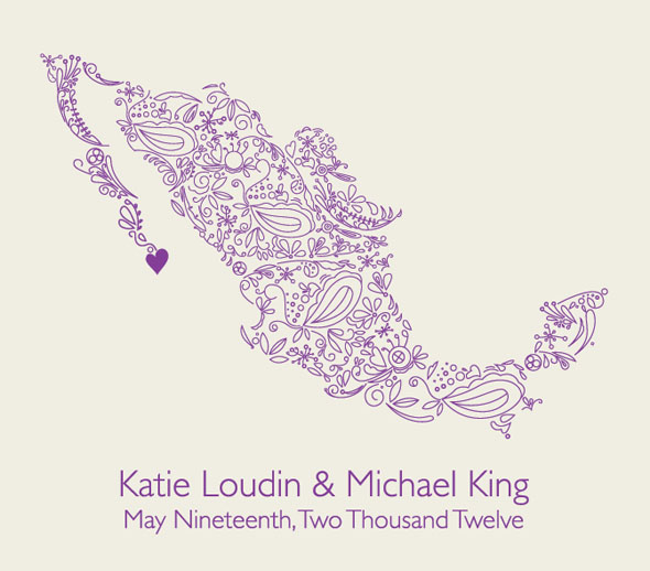 Save the date mexico Los Cabos, Mexico Destination Wedding