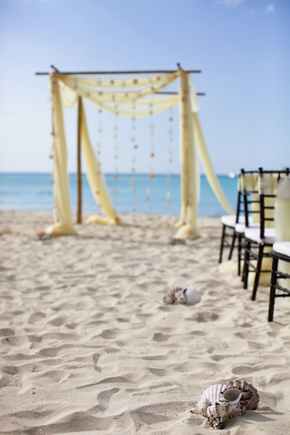 beach wedding Destination Wedding in the Bahamas