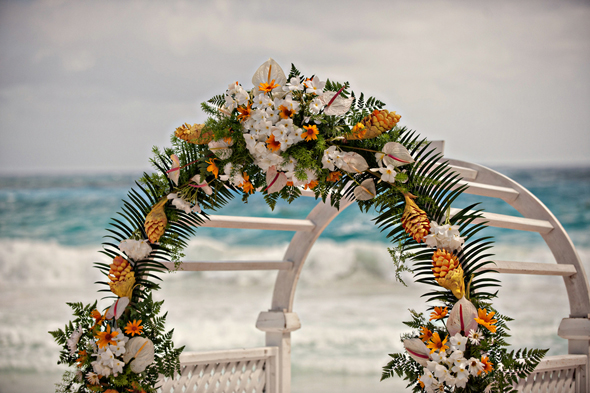 beach wedding1 Destination Wedding on a Boat in Barbados