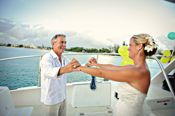 boat wedding Destination Wedding on a Boat in Barbados