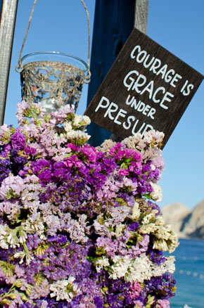 purple weddings Los Cabos, Mexico Destination Wedding