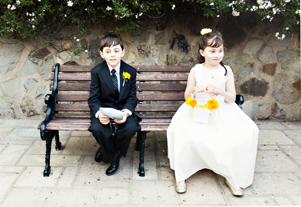 ring bearers and flower girls St. Helena Destination Wedding