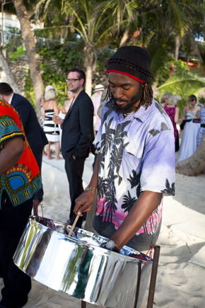 steel drummers bahamas Destination Wedding in the Bahamas