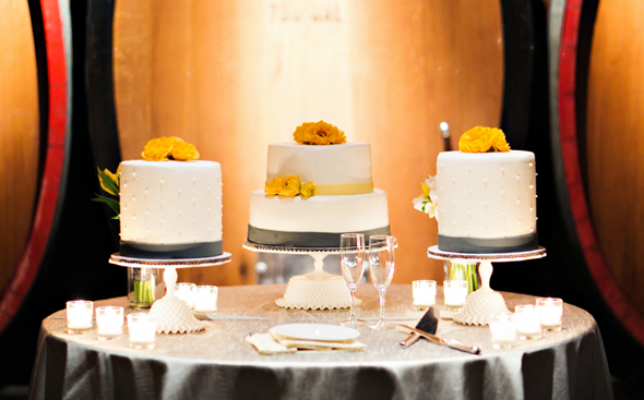 wedding cake tables St. Helena Destination Wedding