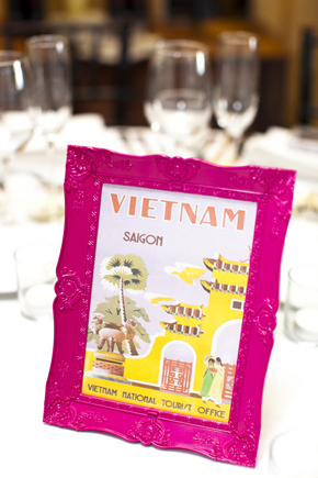 wedding table names Destination Wedding in the Bahamas