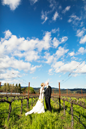 wine country wedding ca