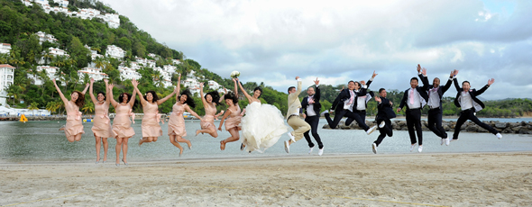 beach weddings St. Lucia Destination Wedding