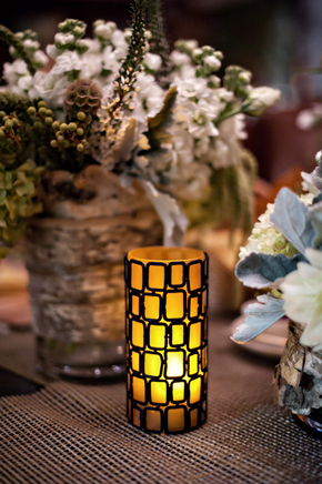 candle light weddings California Desert Fault Line Wedding