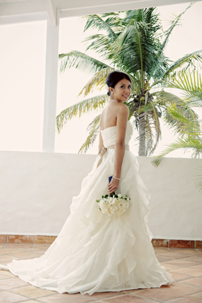 destination wedding dresses1 St. Lucia Destination Wedding