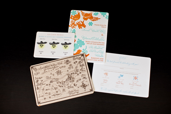 destination wedding invitations Destination Wedding Invitation   Mexico