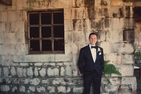 groom's tuxedo destination wedding