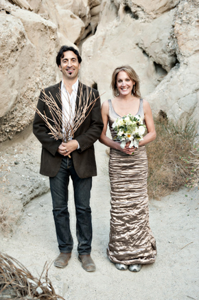 palm springs destination wedding1 California Desert Fault Line Wedding