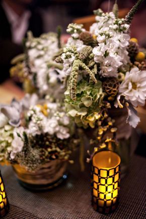 rustic wedding flowers California Desert Fault Line Wedding